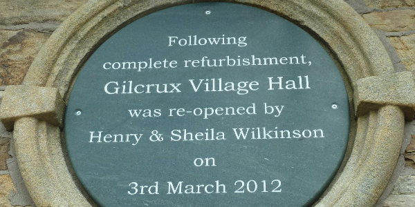 """Gilcrux Village Hall."""