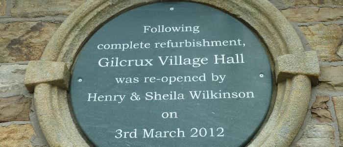 """""""Gilcrux Village Hall."""""""