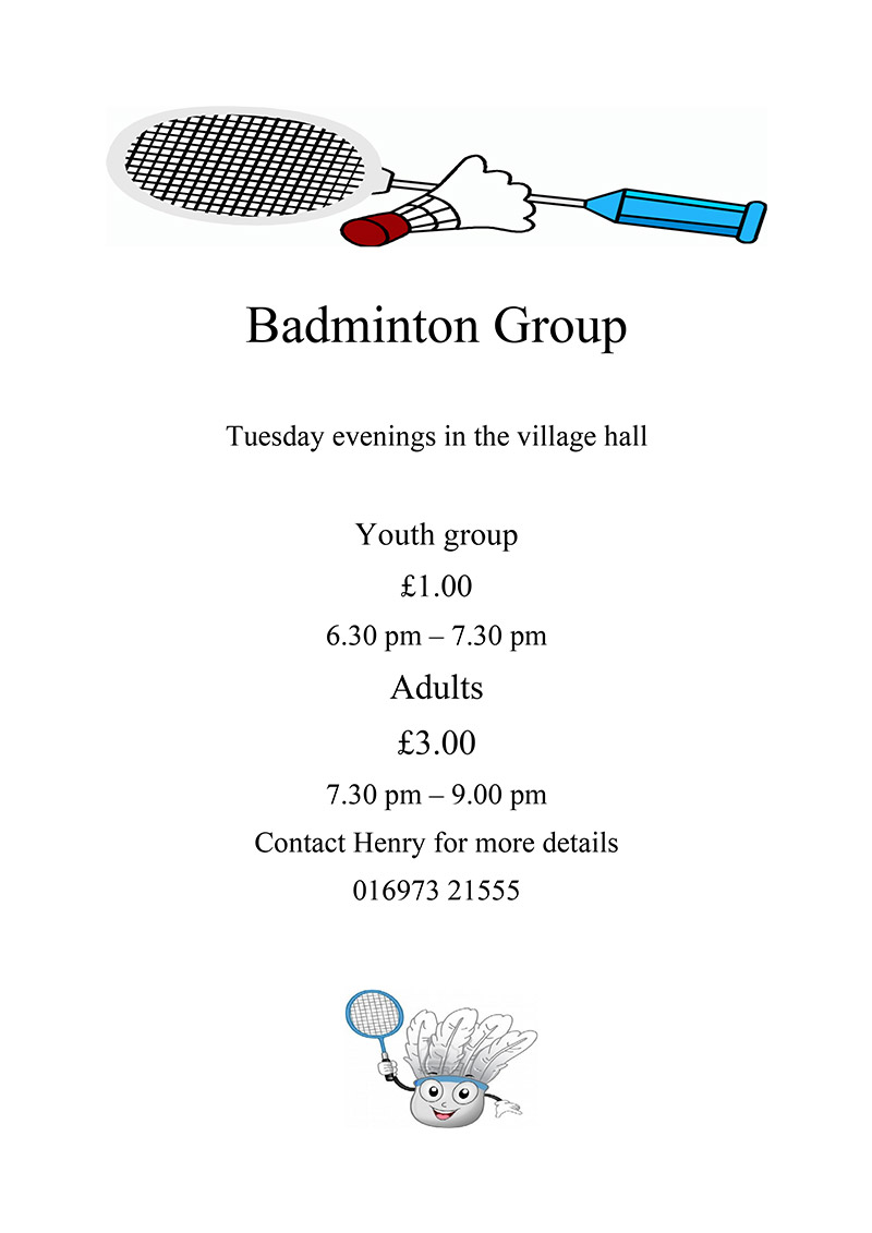 badminton group