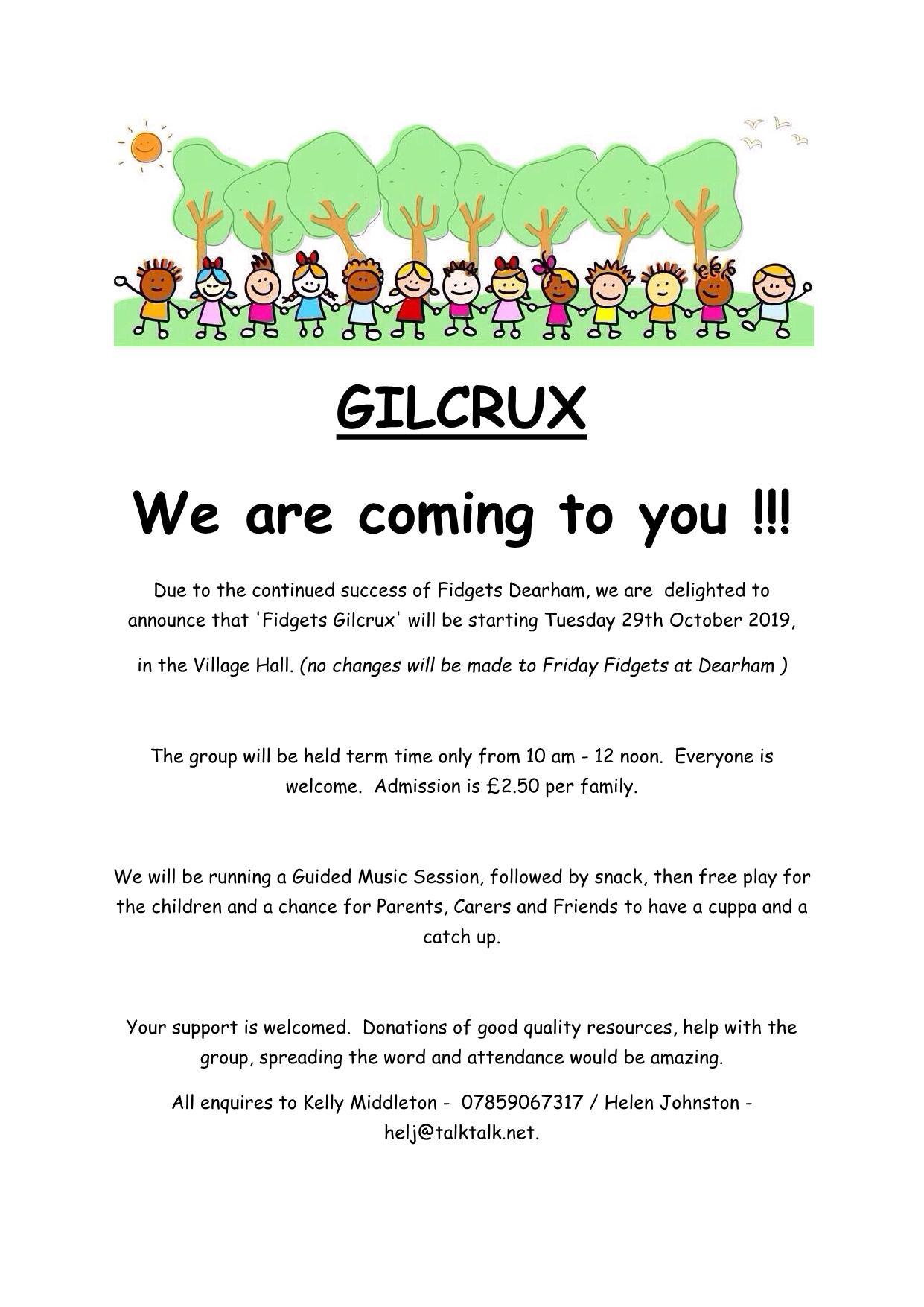 2019 Fidgets Gilcrux